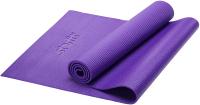 Коврик для йоги и фитнеса Starfit FM-101 PVC (173x61x0.6см, фиолетовый) -