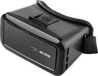 Шлем виртуальной реальности Acme VRB01 / 877739 (черный) -