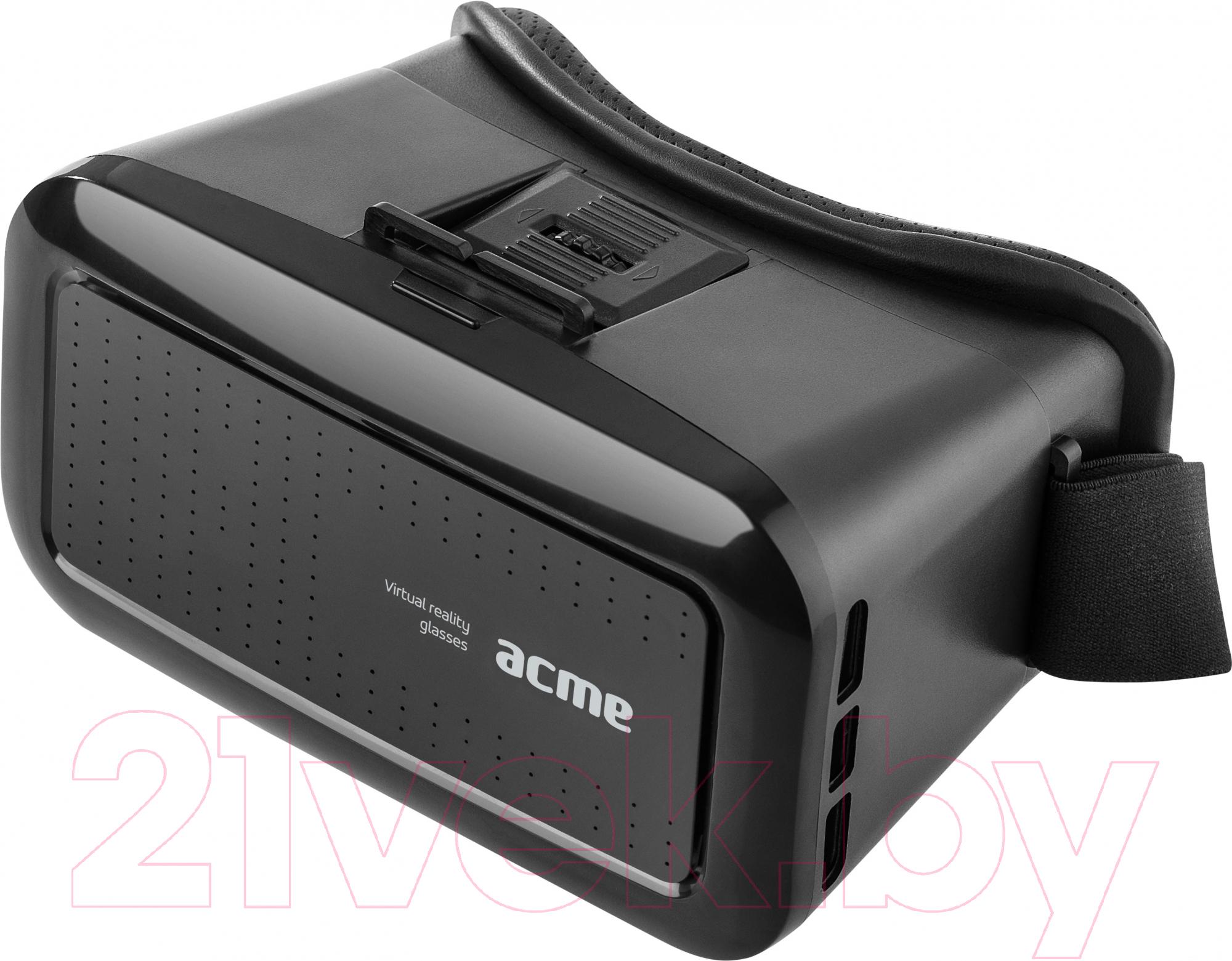 Купить Шлем виртуальной реальности Acme, VRB01 / 877739 (черный), Китай