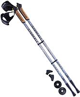 Палки для скандинавской ходьбы Berger Starfall 77-135 (серый/черный/белый) -
