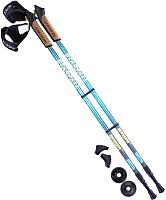 Палки для скандинавской ходьбы Berger Starfall 77-135 (синий/серый/желтый) -