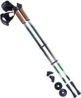 Палки для скандинавской ходьбы Berger Starfall 77-135 (черный/белый/ярко-зеленый) -