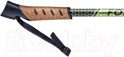 Палки для скандинавской ходьбы Berger Forester 67-135 (болотный/желтый)