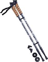 Палки для скандинавской ходьбы Berger Forester 67-135 (серый/черный) -