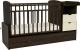 Детская кровать-трансформер Альма-Няня Соната 552038-9 (венге/бежевый) -