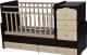 Детская кровать-трансформер Антел Ульяна-2 (венге/слоновая кость) -