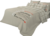 Комплект постельного белья Нордтекс Волшебная ночь Happiness ВН 1502 21007+8226/2 -
