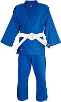 Кимоно для дзюдо Green Hill MA-302 (р-р 2/150, синий) -
