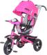 Детский велосипед с ручкой Trike 5588A-2 (розовый) -