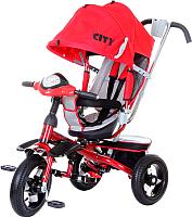 Детский велосипед с ручкой Trike 5588A-2 (красный) -