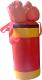 Набор для бокса детский KMS sport №2 (красный/желтый) -