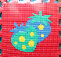 Коврик-пазл Sunta С овощами и фруктами / 1016 -