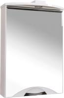 Шкаф с зеркалом для ванной Аква Родос Глория Галерея 55 GLZL55 / 000000068 -