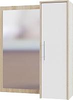 Шкаф навесной Сокол-Мебель ПЗ-4 (дуб сонома5/белый6) -