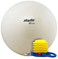 Фитбол гладкий Starfit GB-102 (65см, белый) -