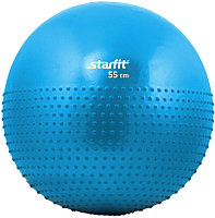 Фитбол массажный Starfit GB-201 (55см, синий) -