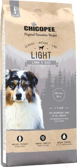 Купить Корм для собак Chicopee, CNL Adult Light Lamb&Rice (15кг), Канада