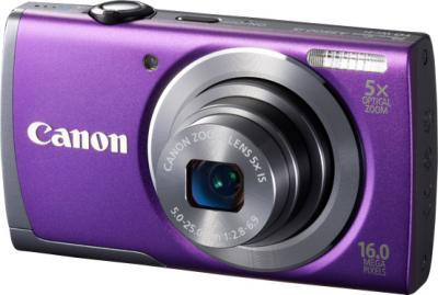 Компактный фотоаппарат Canon PowerShot A3500 (Purple) - общий вид