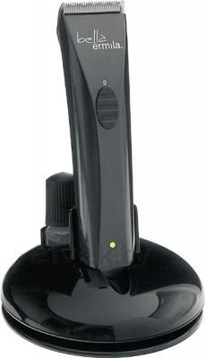 Машинка для стрижки волос Ermila Bella 1590-0043 (Black) - на подставке