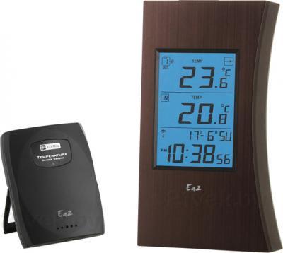 Метеостанция цифровая Ea2 ED601 - общий вид с выносным термодатчиком