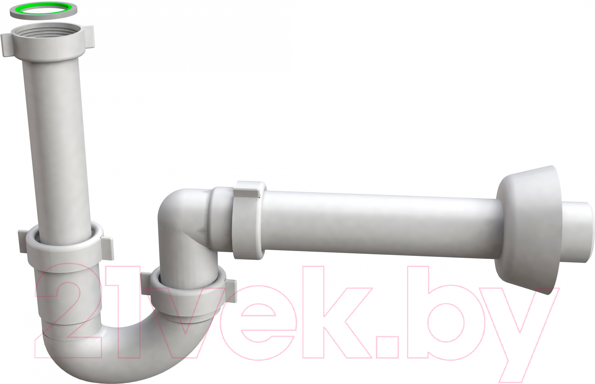 Купить Сифон сливной Bonomini, 1491CP40B0, Италия, полипропилен