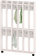 Вешалка для детского сада Славянская столица ДУ-ВН6-1 (белый) -
