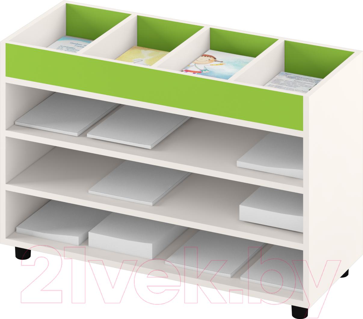 Купить Система хранения Славянская столица, ДУ-СМ5 (белый/зеленый), Беларусь