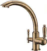 Смеситель Kaiser 31244-3 Bronze -