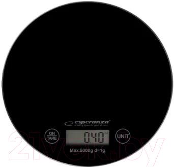 Купить Кухонные весы Esperanza, Mango EKS003K (черный), Китай