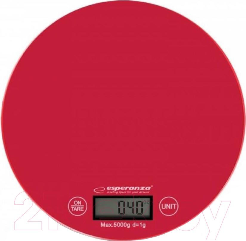 Купить Кухонные весы Esperanza, Mango EKS003R (красный), Китай