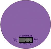 Кухонные весы Esperanza Mango EKS003V (фиолетовый) -