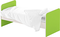 Односпальная кровать Славянская столица ДУ-КО14 (белый/зеленый) -