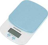 Кухонные весы StarWind SSK2156 (голубой) -