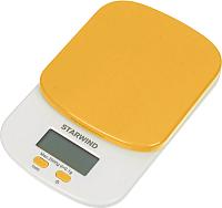 Кухонные весы StarWind SSK2158 (оранжевый) -