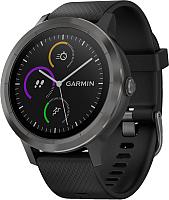 Умные часы Garmin Vivoactive 3 / 010-01769-12 (черный/темный безель) -