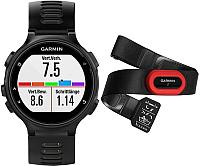 Умные часы Garmin Forerunner 735XT RUN / 010-01614-15 (черный/серый) -