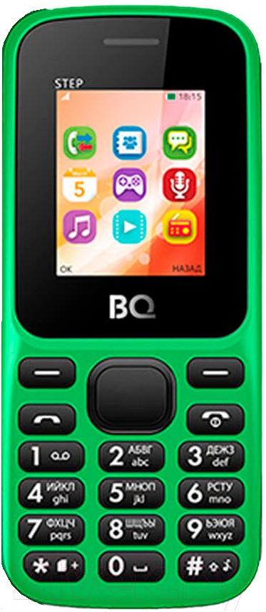 Купить Мобильный телефон BQ, Step BQ-1805 (зеленый), Китай