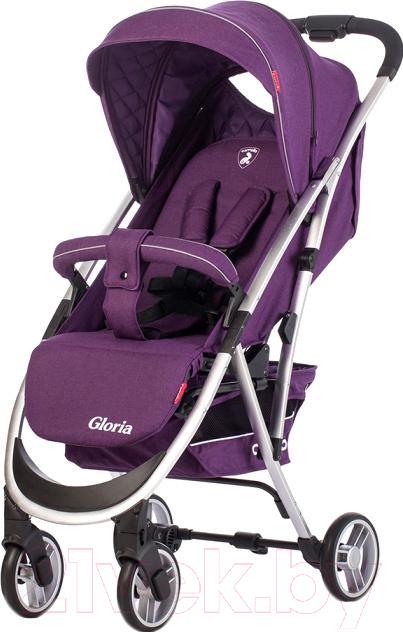 Детская прогулочная коляска Carrello, Gloria CRL-8506 (фиолетовый), Китай  - купить со скидкой