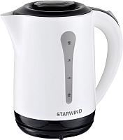 Электрочайник StarWind SKP2212 (белый/черный) -