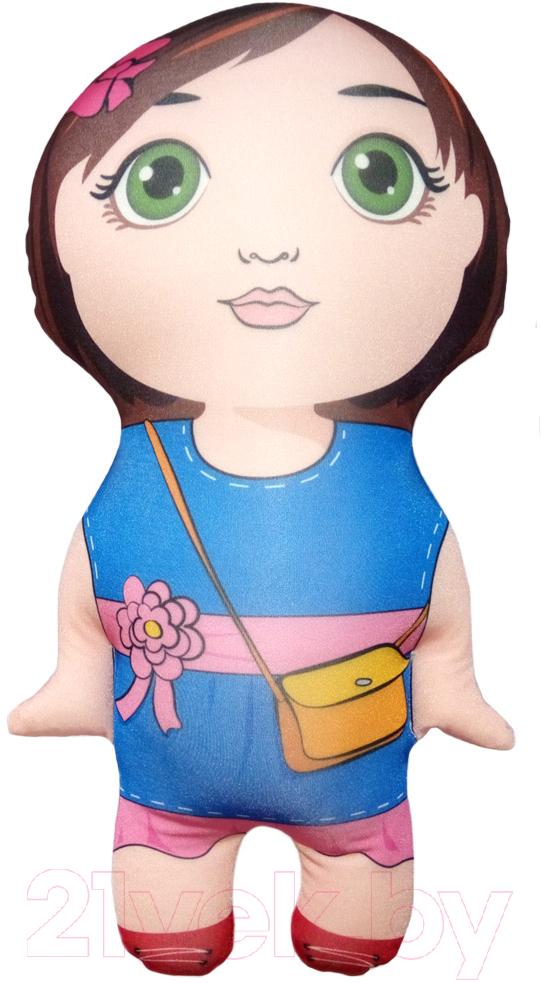Купить Мягкая игрушка Мнушки, Девочка / IG0051T050218A014, Россия, коричневый, полиэстер