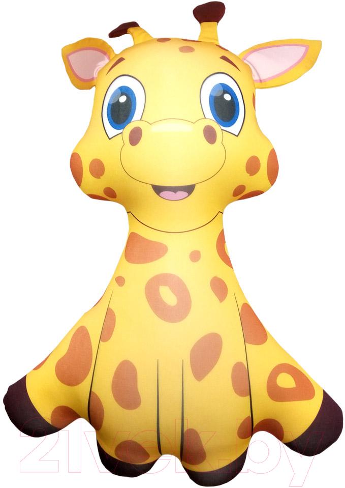 Мягкая игрушка Мнушки, Малыш Жирафик / T5000C1711A044OR, Россия, коричневый, полиэстер  - купить со скидкой