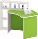 Стол для детского сада Славянская столица ДУ-СИ2 (белый/зеленый) -