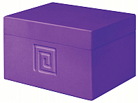 Шкатулка для ванны Bisk Meander 02742 (фиолетовый) -