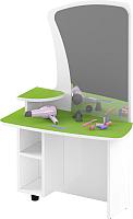 Стол для детского сада Славянская столица ДУ-СИ9 (белый/зеленый) -