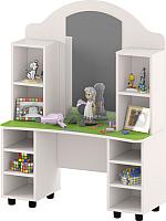 Стол для детского сада Славянская столица ДУ-СИ11 (белый/зеленый) -