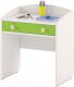 Стол для детского сада Славянская столица ДУ-СИ13 (белый/зеленый) -