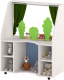 Стол для детского сада Славянская столица ДУ-СИ14 (белый/синий) -