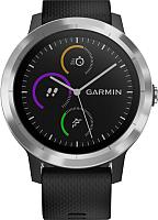 Умные часы Garmin Vivoactive 3 / 010-01769-02 (черный/светлый безель) -