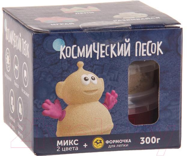 Купить Набор для лепки Космический песок, Микс розовый KP015SP (0.3кг), Россия, пластик