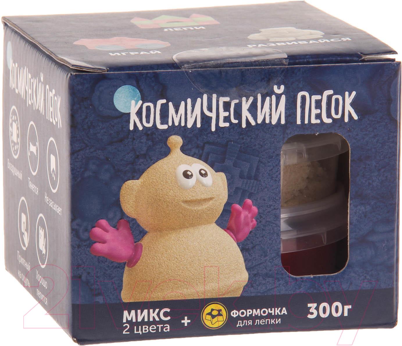 Купить Набор для лепки Космический песок, Микс красный KP015SR (0.3кг), Россия, пластик